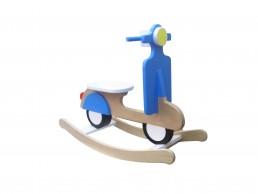 drvena igračka za decu njihalica vespa
