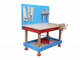 Drvena igračka majstorski radni sto radiša