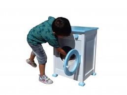 drvena igračka veš mašina za decu